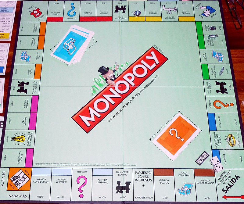 List of licensed and localized editions of Monopoly: USA